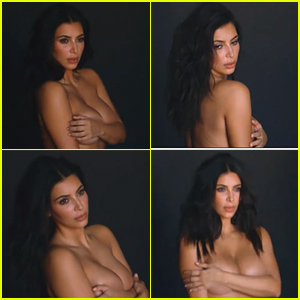 Kanye West Boasts 'I'm So Lucky,' Posts Topless Photos of Kim Kardashian - Read the Tweets!