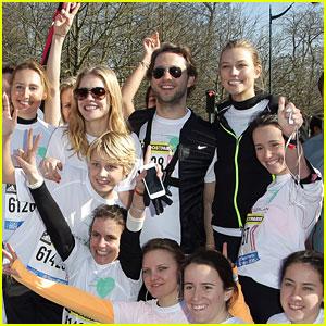 Karlie Kloss Ran Paris' Half-Marathon In Under Two Hours