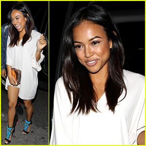 Karrueche Tran Parties After Parting Ways with Chris Brown