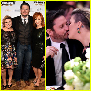 kelly clarkson amp her hubby like to kiss not �fight