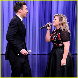 Kelly Clarkson & Jimmy Fallon Perform Epic Duets Together - Watch Now!