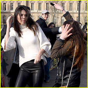 Kendall Jenner Attacked By an Overzealous Fan in Paris (Photos)
