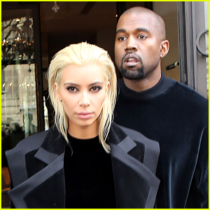 Kim Kardashian Debuts Platinum