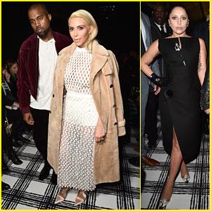 Kim Kardashian Shows Off Her Body & Platinum Hair at Balenciaga