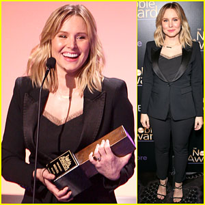 Kristen Bell Receives Award for Youth Advocacy