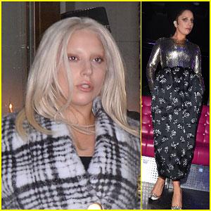 Lady Gaga Celebrates Paris Fashion Week in Style