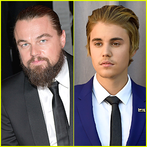 Leonardo DiCaprio Parties the Night Away with Justin Bieber