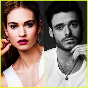 'Cinderella' Stars Lily James & Richard Madden Talk Love, Life & Fairytales (Exclusive Pictures)