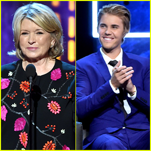 Martha Stewart Killed It at Justin Bieber's Roast, Jokes About Pr