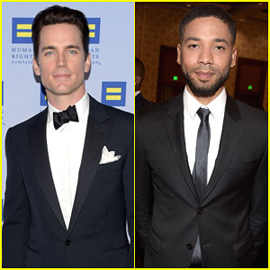 Matt Bomer & Jussie Smollett Suit Up for the Human Rights Campaign Gala 2015