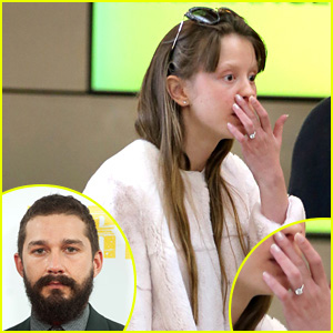 Shia LaBeouf's Girlfriend Mia Goth Seen with Ring on THAT Finger, Sparks Engagement Rumors