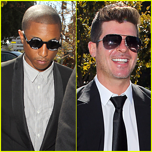 Pharrell Williams & Robin Thicke Accused of Lying About 'Blurred Lines'