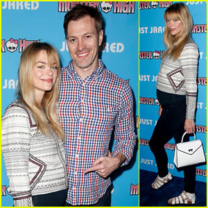 Pregnant Jaime King Celebrates Throwback Thursday with Just Jared & Monster High!