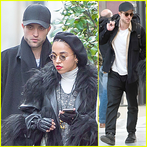 Robert Pattinson & FKA twigs Spend Time Together - See New Pics!