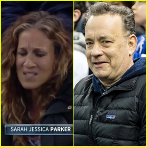 Video of Sarah Jessica Parker Seemingly Throwing Shade at Tom Hanks Goes Viral