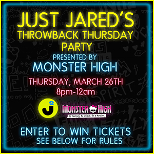 Win FREE Tickets to Just Jared's Throwback Thursday Party!