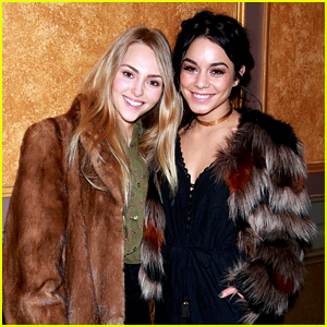 Vanessa Hudgens Enjoys a Night 'On the Town' with AnnaSophia Robb!