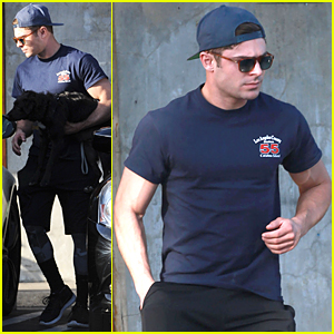 Zac Efron Steps Out After Getting Multiple MTV Movie Awards 2015 Nomi