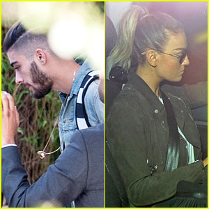 Zayn Malik & Fiancee Perrie Edwards Spotted Out Separately After Leaving One Direction