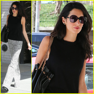 Amal Clooney Embraces the Warm NYC Weather in Style