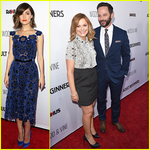 Amy Poehler Supports Boyfriend Nick Kroll & Rose Byrne at 'Adult Beginners' Premiere!