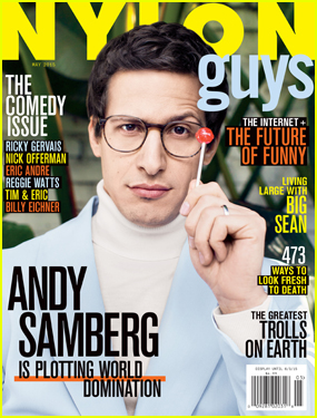 Andy Samberg Gushes About Wife Joanna Newsom in 'Nylon Guys'