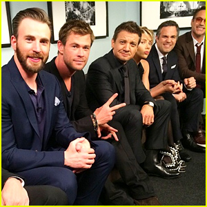 'Avengers' Cast Plays 'Family Feud' on 'Jimmy Kimmel' - Watch Now!