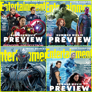 'Avengers' Cover EW's Summer Movie Preview Magazine!
