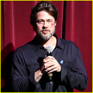 Brad Pitt Explains the Freak Accident That Caus