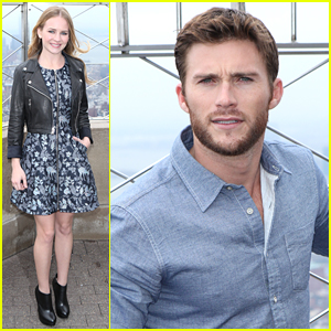 Scott Eastwood & Britt Robertson Take 'The Longest Ride' To The Empire State Building
