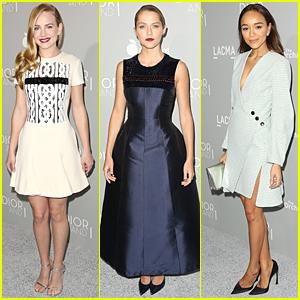Britt Robertson & Teresa Palmer Are Stunning Blondes at 'Dior & I' Premiere