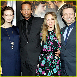 Carey Mulligan & Michael Sheen Get 'Far From the Madding Crowd' in NYC
