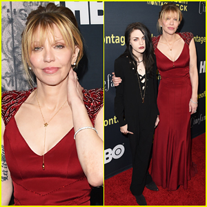 Courtney Love Brings Daughter Frances Bean Cobain To 'Kurt Cobain: Montage Of Heck' Premiere!