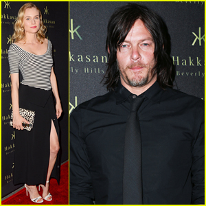 Diane Kruger Helps 'Flaunt' Magazine Honor Norman Reedus!