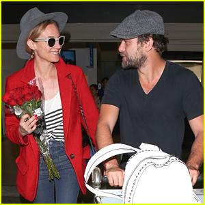 Diane Kruger & Joshua Jackson Look So Happy Together