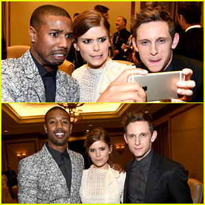 'Fantastic Four' Cast Takes Silly Selfies at CinemaCon