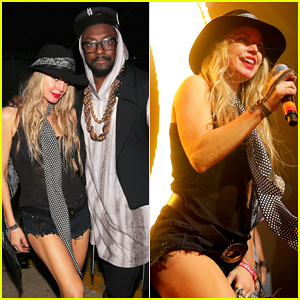 Fergie Reunites with Her Black Eyed Peas Boys at Coachella for 'I Got A Feeling' Performance - Watch Here!
