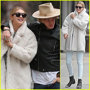 Gigi Hadid & Cody Simpson Get Affectionate Before Coachella