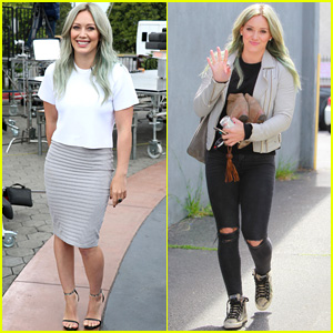 Hilary Duff Talks About Kylie Jenner Blue Hair Comparisons