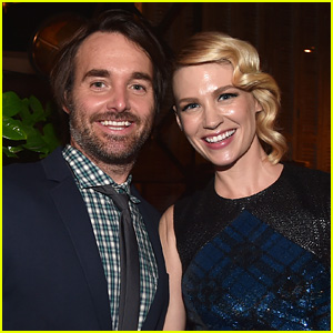 January Jones & Will Forte: New Couple Alert?