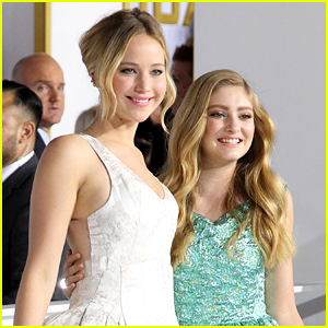 Willow Shields Reveals What Jennifer Lawrence