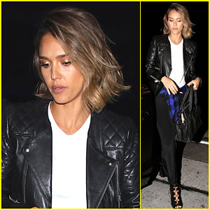 Jessica Alba Enjoys Some Whiskey in Nashville