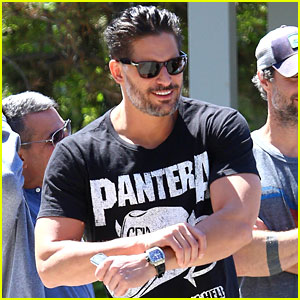 Joe Manganiello Hangs Out With Pee-Wee Herman