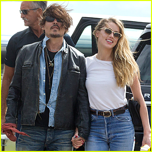 Johnny Depp & Amber Heard Spotted Holding Ha