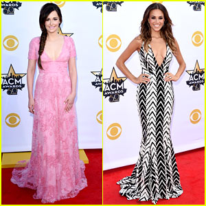 Kacey Musgraves & Jana Kramer Glam Up for ACM Awards 2015