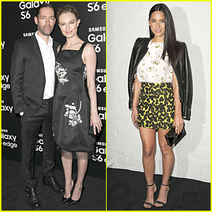 Kate Bosworth & Michael Polish Look Picture Perfect at Samsung Galaxy S6 Launch