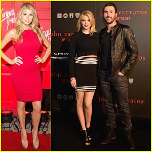 Kate Upton & Boyfriend Justin Verlander Couple Up at John Varvatos Detroit Store Opening!