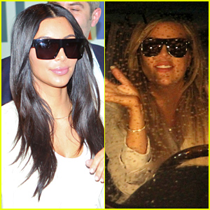 Kim & Khloe Kardashian Arrive in Armenia to Frenzy of Fans