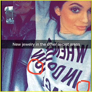 Kylie Jenner Confirms Nipple Piercings With Snapchat Pic