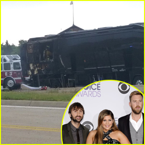Lady Antebellum's Tour Bus Catches on Fire, No One Hurt (Video)